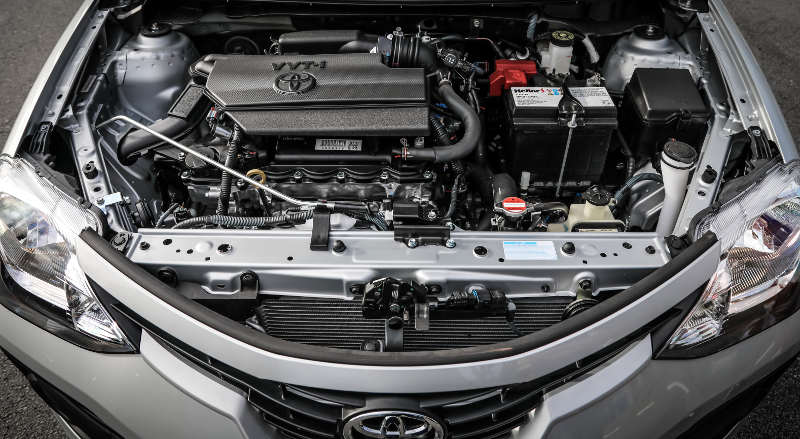 Motor 1.5 do Toyota Etios 2018