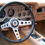 Painel (dashboard) do Ford Mustang King Cobra 1978