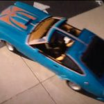 Ego, Kurt-Russel-, in 1980 in the uardians of The Galaxy Vol.2 overview cene with the Ford Mustang King Cobra car