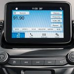 Painel do Ford Ka FreeStyle 2019 com central Sync 3