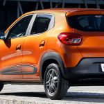 Traseira do Renault Kwid Intense