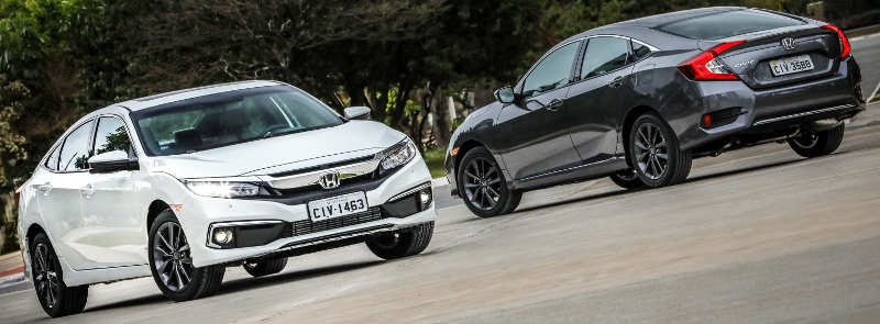 Honda Civic Touring e EXL 2020
