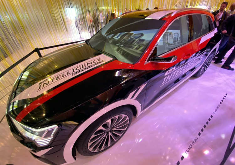 Audi Intelligence Experience na CES 2020