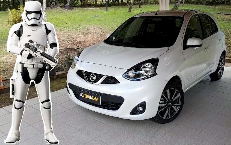 Nissan March Stormtrooper