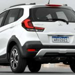 Traseira do Honda WR-V EX 2021