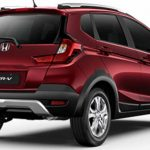 Traseira do Honda WR-V LX 2021