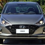 Dianteira do Hyundai HB20 Diamond 2021