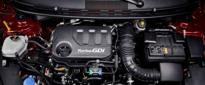 Motor turbo do Hyundai HB20 2021