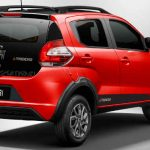 Visual aventureiro do Fiat Mobi Trekking 2021