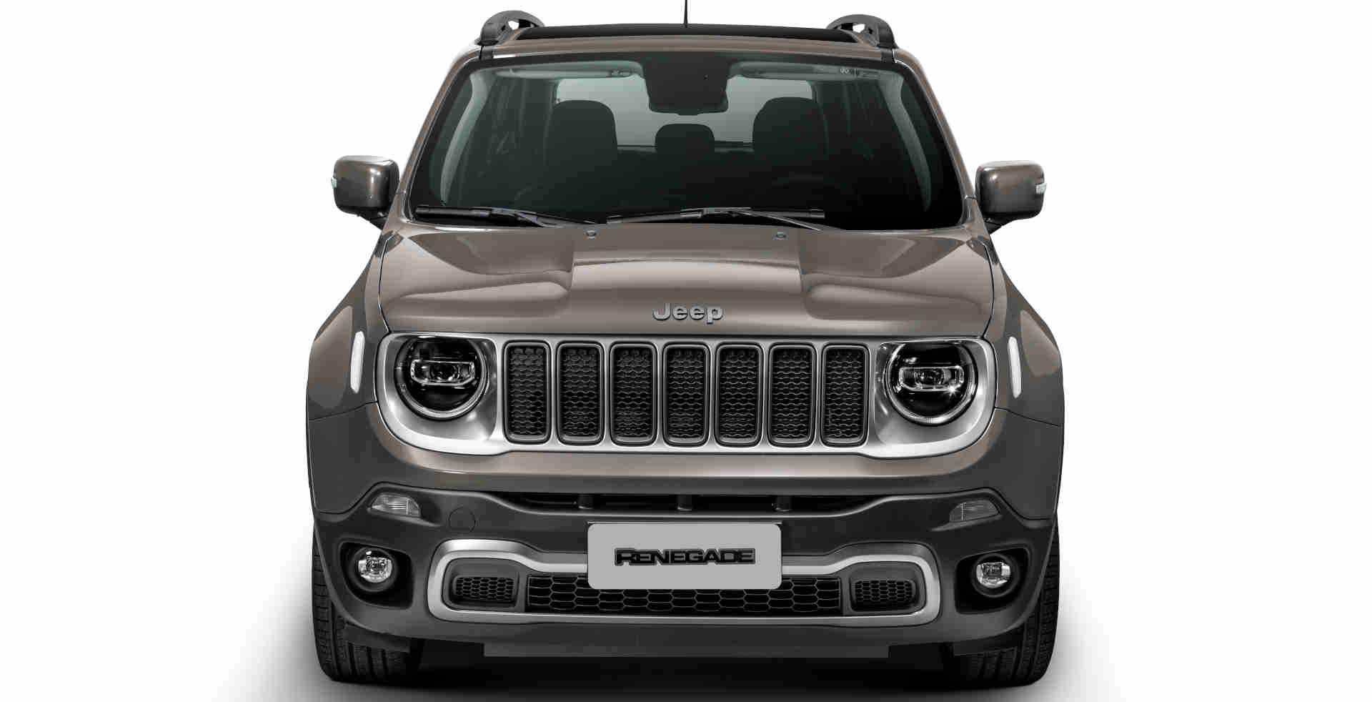 Dianteira do Jeep Renegade Limited flex 2021