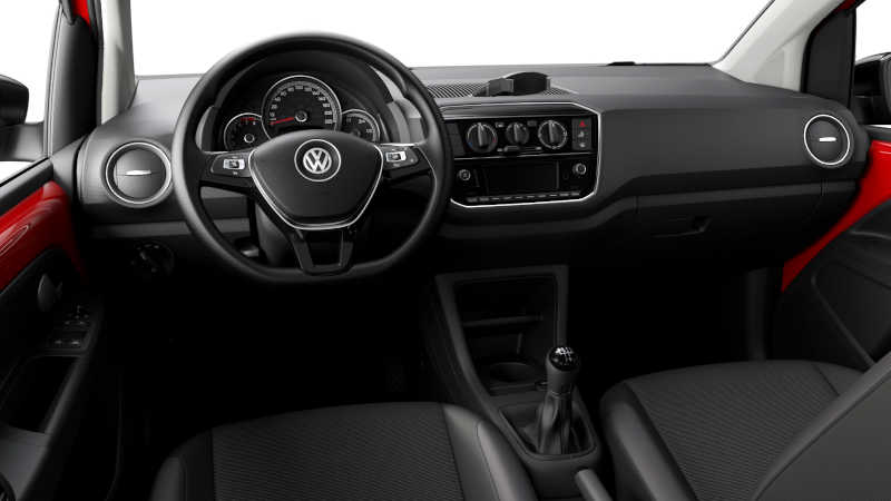 Painel do Volkswagen Up Xtreme 2021