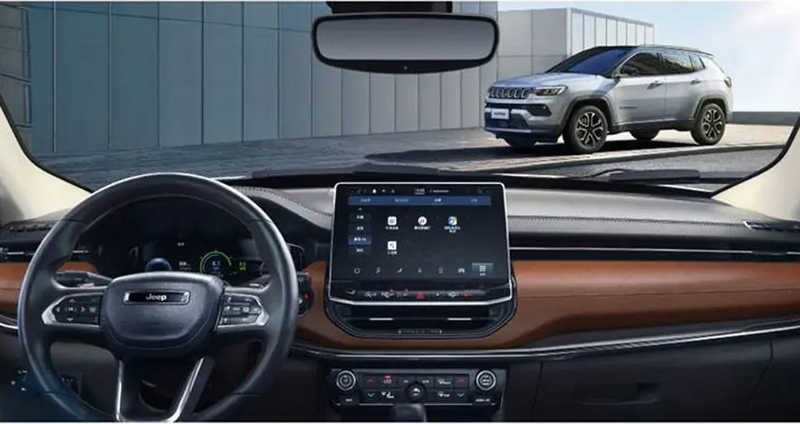Painel do Jeep Compass 2022