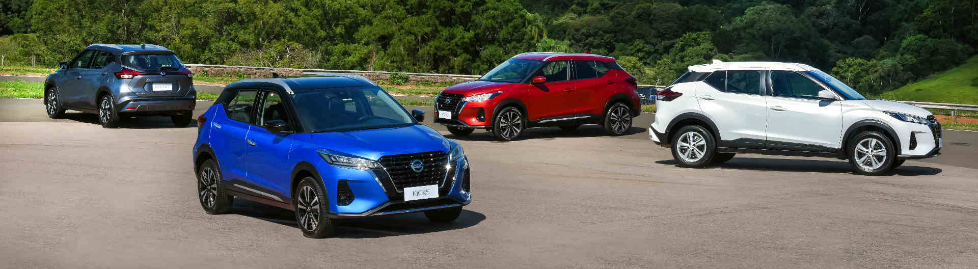 Foto de capa do novo Nissan Kicks 2022