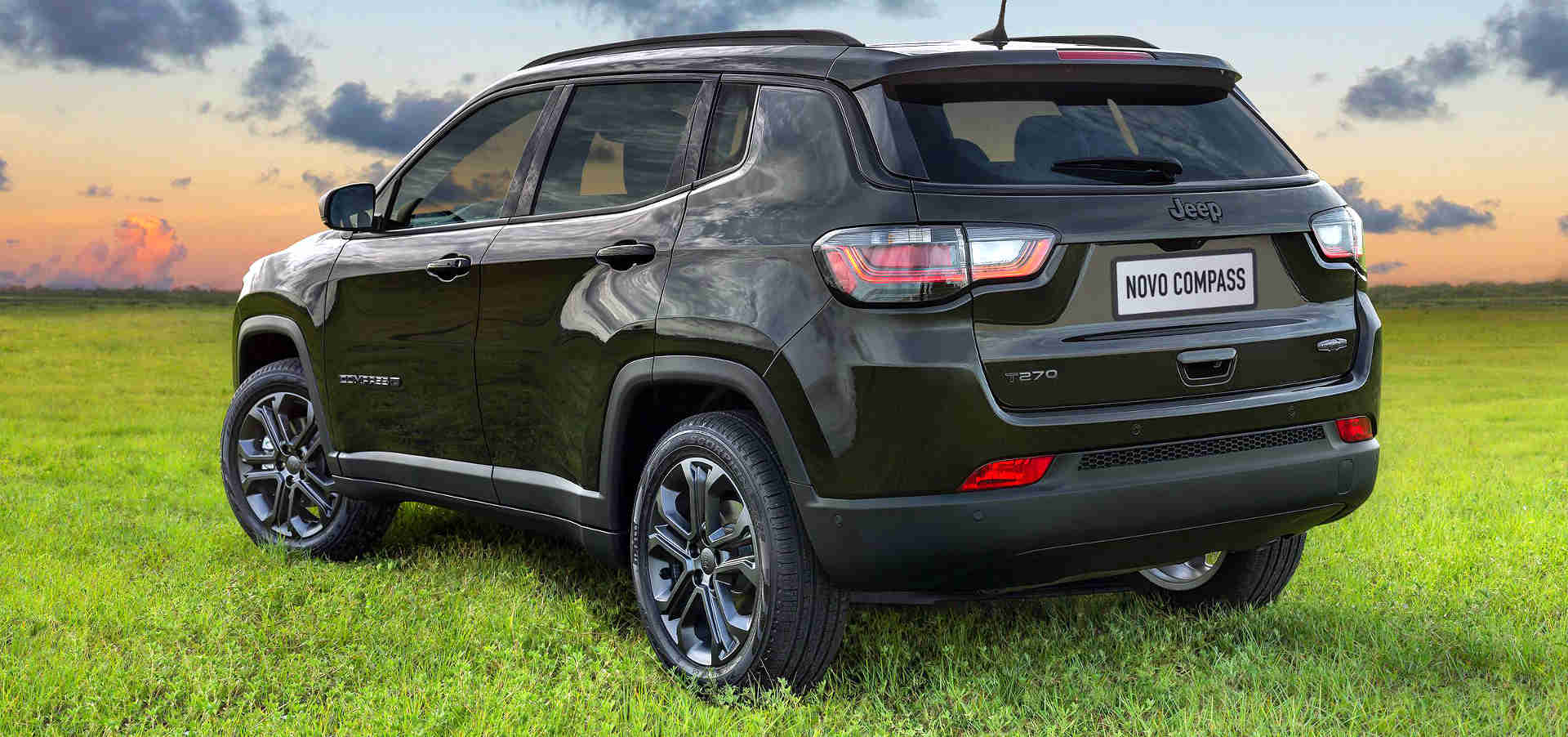 Foto de capa do novo Jeep Compass 2022