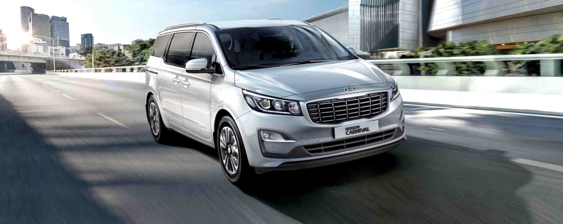 Foto do Kia Grand Carnival Brasil 2022